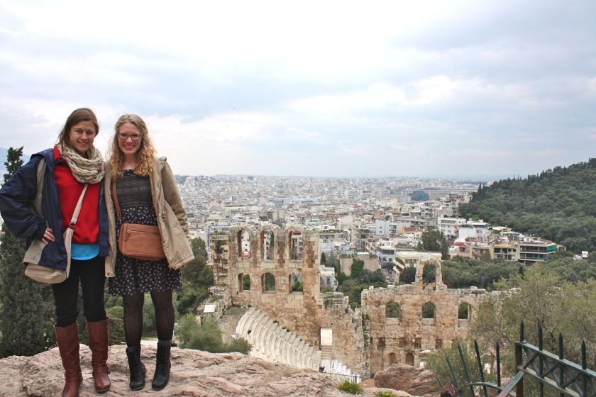 Climbing to the Acropolis