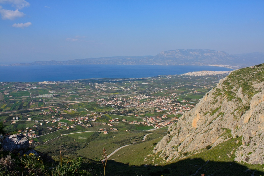 Corinth from the top