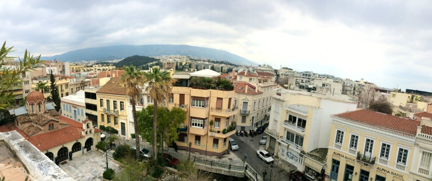 View from the roof of our hotel
